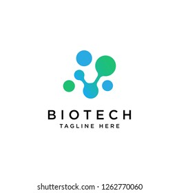 Biotech Logo Design Inspiration - Vector
