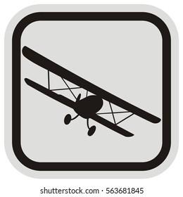 biplane, frame