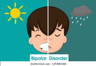Bipolar disorder Makes you feel very happy And in times of extreme sadness Until wanting to commit suicide