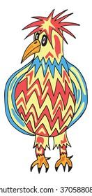 bird cartoon illustration