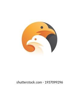 Bird Dove or Pigeon Head Logo