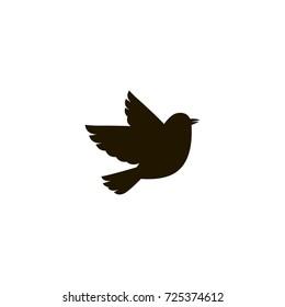 bird icon. sign design