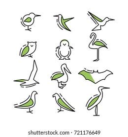 bird icons