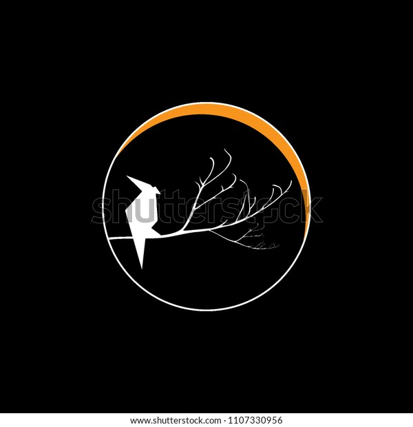 Bird Logo Company Stock Vector Royalty Free 1107330956