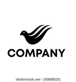 bird logo vector animal mascot template wildlife