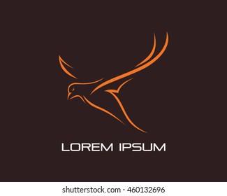 Bird Logo Vector Illustration