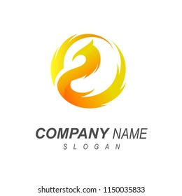 bird logo and wings that expand with a simple look, the logo is ready for use