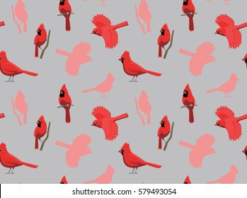 Bird Northern Cardinal Wallpaper