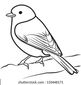 Bird Outline Images Stock Photos Vectors Shutterstock