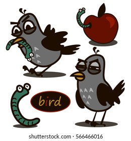 Bird and worm