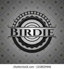 Birdie black emblem. Vintage.