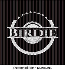Birdie silvery emblem