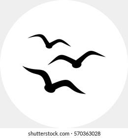 Birds simple icon
