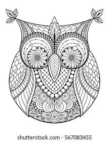 Vectores Imágenes Y Arte Vectorial De Stock Sobre Owl