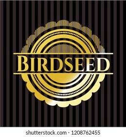 Birdseed gold shiny emblem