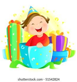 Surprise Happy Kid Stock Illustrations, Images & Vectors   Shutterstock