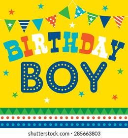 Birthday Child Blowing Candles Cake Cars Teen Boy