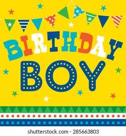 Teen Boy Birthday Baby Blonde