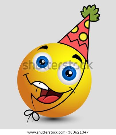 Birthday Boy Emoji Smiley Emoticon