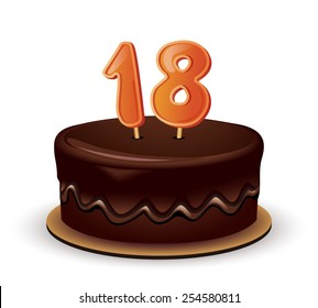 18 Birthday Candles Images Stock Photos Vectors