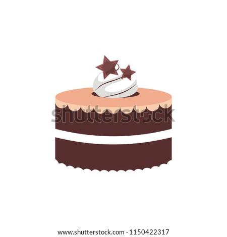 Birthday Cake Logo Stock Vector Royalty Free 1150422317 Shutterstock