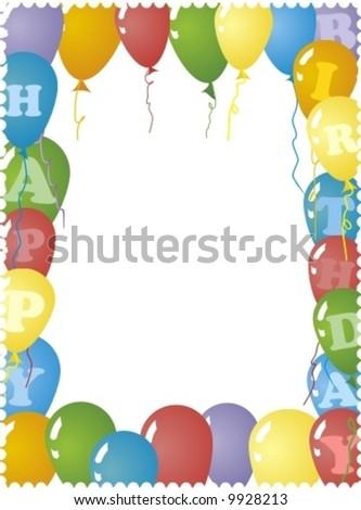 Imageshutterstock Image Vector Birthday Card