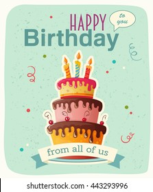 Royalty Free Happy Birthday Cake Images Stock Photos Vectors