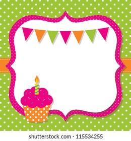blank birthday card