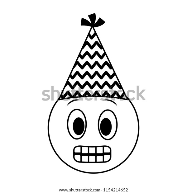 Black And White Party Hat Clip Art at Clker.com - vector clip art online,  royalty free & public domain