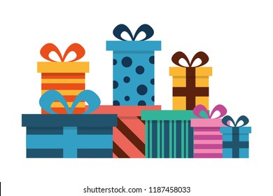 birthday gifts boxes surprise decoration celebration