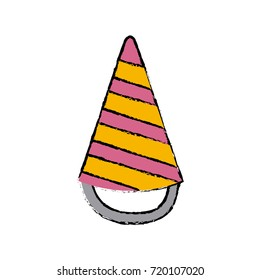 Birthday hat symbol