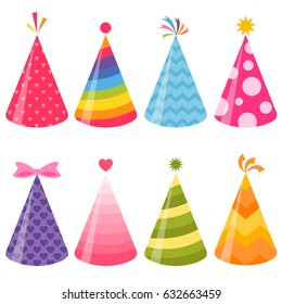 Birthday party hats set