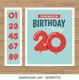 birthday invitation images stock photos vectors shutterstock