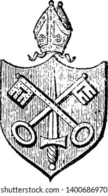 Bishopric is the administrative body of a Mormon ward consisting of a bishop the area for which a bishop it is responsible or the rank or office of being a bishop vintage line drawing or engraving