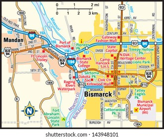 Chicago Illinois Downtown Map Stock Vector 139204250 Shutterstock