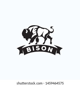 bison exclusive logo design inspiration
