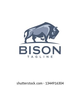 Bison Logo Template