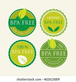 Bisphenol-A Free Label set