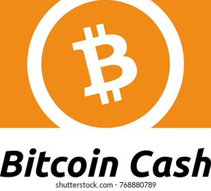 Bitcoin Cash digital crypto currency icon
