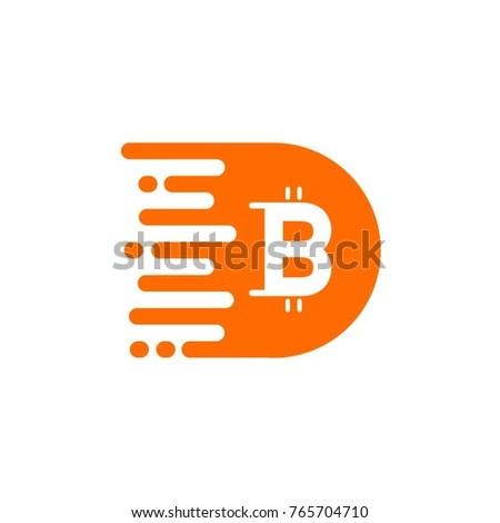 Bitcoin Logo Design Vector Stock Vector (Royalty Free