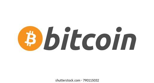 Bitcoin logo vector illustration
