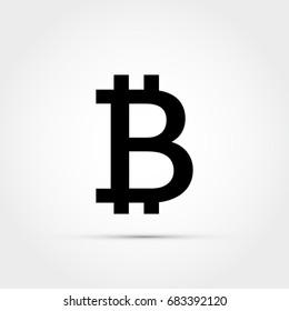 Bitcoin vector logo