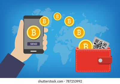 Bitcoin Wallet Images, Stock Photos & Vectors | Shutterstock
