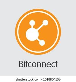 Bitconnect - Cryptocurrency Logo.