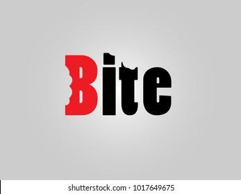 Bite Logo, Logotype