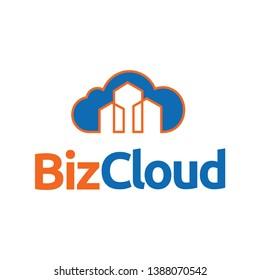 Biz Cloud Data Logo Template