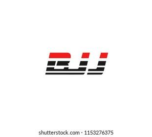BJJ Letter Logotype