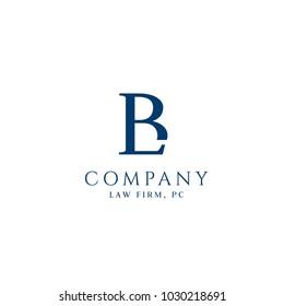 B,L letters business vector logo. Elegant line art logo design. Business sign, identity for Restaurant, Royalty, Boutique, Cafe, Hotel