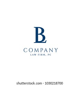 B,L letters business vector logo. Elegant line art logo design. Business sign, identity for Restaurant, Royalty, Boutique, Cafe, Hotel
