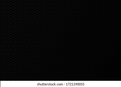 Black abstract background. Grey pattern. Dark mode. Vector illustration.